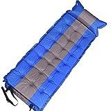 Esterilla Camping,Esterilla Hinchable Inflación del colchón para dormir, liviano para dormir, almohadilla de aire a prueba de camping a prueba de agua con almohadilla de aire 183 * 62 * 4,5 cm ultrali