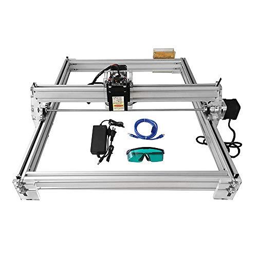 2500MW ETE ETMATE 40X50 CM Kits de grabador l/áser de bricolaje CNC 12V USB M/áquina de grabado l/áser de escritorio