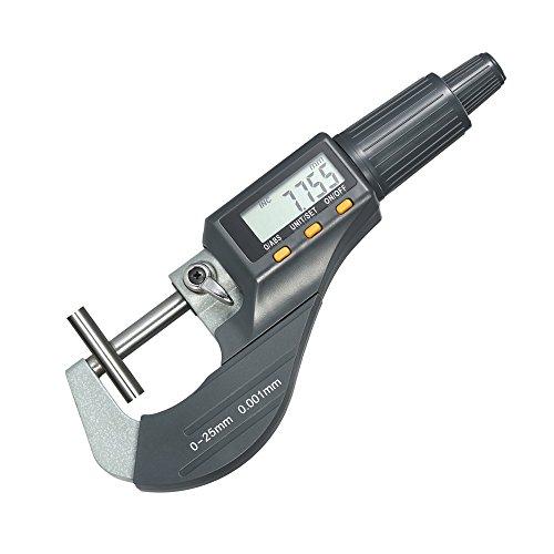 KKmoon 0–25mm Fuera Micrómetro digital de alta precisión electrónica Micro...