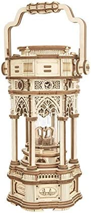 ROKR 3D Wooden Puzzle for Adults to Build Victorian Style Vintage Lantern Music Box Self Assembly product image