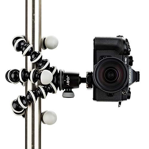 JOBY GorillaPod SLR Zoom. Flexible Tripod with Ballhead Bundle for DSLR and Mirrorless Cameras Up To 3kg. (6.6lbs).