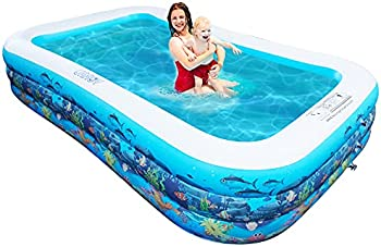 Urroy 10ft Full-Sized Inflatable Swimming Pool