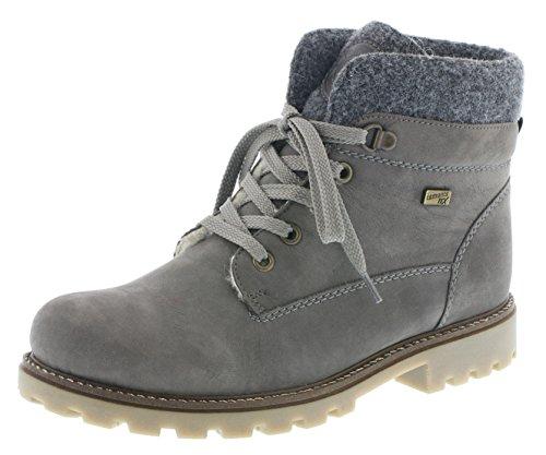 Remonte D7476 Damen Stiefeletten, Stiefel, Boots grau Kombi (gris/Granit/fumo / 45), EU 39