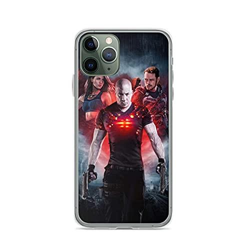 Compatible con iPhone Samsung Galaxy M11/M12 /Xiaomi Redmi Note 10 Pro/Note 9/Poco X3 Pro Funda Bloodshot Ray Vin Jimmy Dalton and KT Cajas del Teléfono Cover