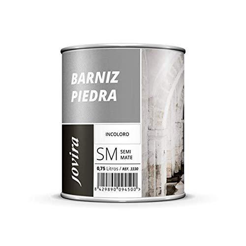 BARNIZ PARA PIEDRA, LADRILLO, TERRAZO, PIZARRA, Incoloro natural Transparente 2.3L INCOLORO