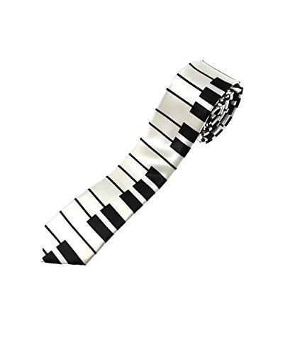 ZAC Alter Ego Cravate piano pour déguisement ou amateurs de musique