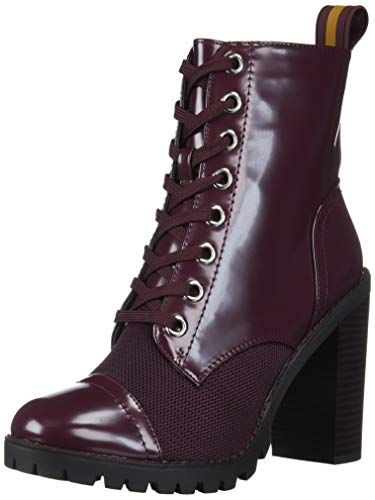 BCBGeneration Women's Paulina Fashion Boot, Burgundy/Burgundy, 5 M US