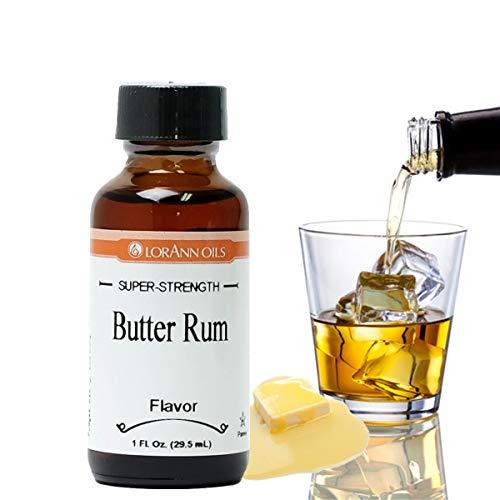 LorAnn Butter Rum Super Strength Flavor, 1 ounce bottle