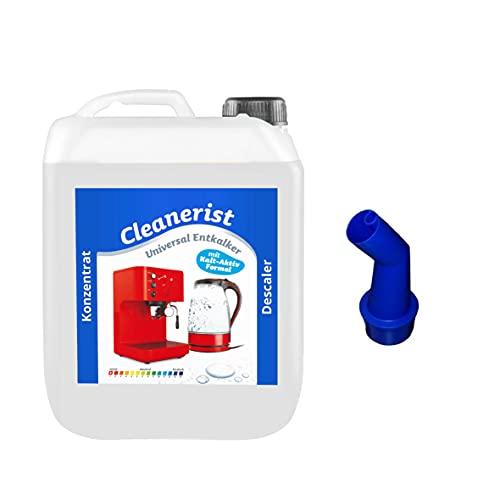 Cleanerist - Descalcificador universal para cafeteras automáticas y máquinas de café | Adecuado para todas las marcas conocidas | Eliminador de cal extra profundo – 10 litros