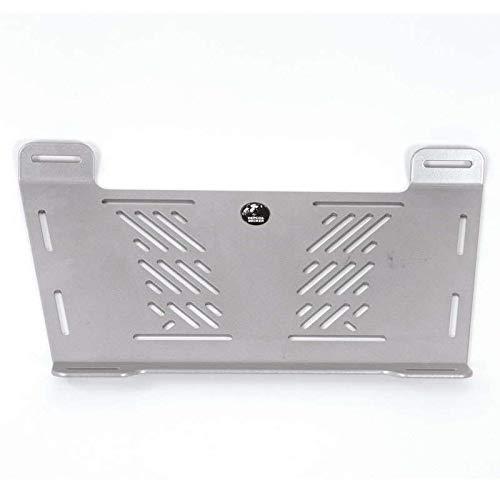 H&B Motorrad-Gepäckträger Gepäckbrückenverbreiterung universal Big Silber, Unisex, Multipurpose, Ganzjährig, Aluminium