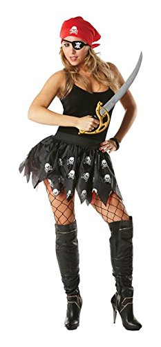 Adult Pirate Girl Tutu Kit (accesorio de disfraz)