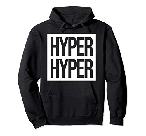 HYPER HYPER | 90er Techno Rave Festival Pullover Hoodie
