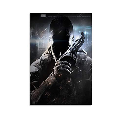 XIAOTT Póster de videojuegos de Call of Duty Black Ops 3 sobre lienzo y arte de pared, impresión moderna, para decoración de dormitorio familiar, 40 x 60 cm