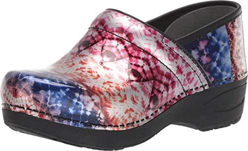 Dansko Women's XP 2.0 Metallic Tie Dye Clogs 7.5-8 M US