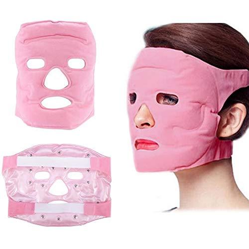 ZWCC Máscara De Ojo De Turmalina, Gel De Magnetita Facial Máscara De Piel Reparación De Masaje Belleza, Aliviar La Fatiga Y Refresca La Piel
