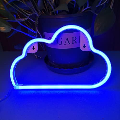 Luci al neon Insegne luminose al neon LED Applique da parete al neon Batteria/USB artistica neon decorazione per Natale Matrimonio Party