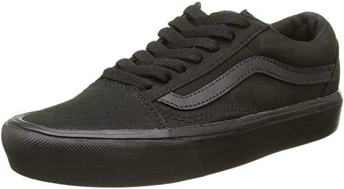 Vans Unisex-Erwachsene Old Skool Lite Sneaker, Schwarz (Canvas), 36 EU