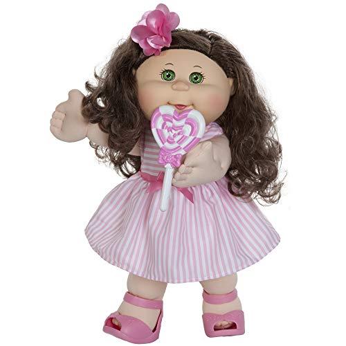 "Cabbage Patch Kids 14"" Kids - Brunette Hair/Green Eye Girl Doll"