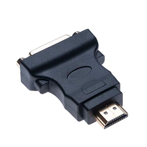 DVI a HDMI (DVI-D Dual Link 24 + 1) Adaptador DVI Hembra...