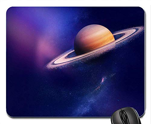Saturn Planeten Galaxy Huawei Honor v8 Stock 10184 Quadratisches Mauspad Gaming Mouse mat