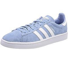 Adidas Men's Shoes Campus Black White
