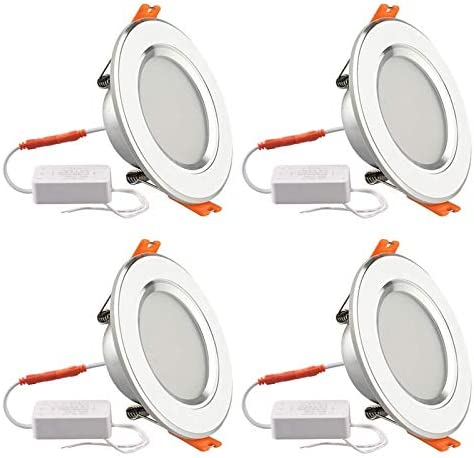 3 Inch LED Recessed Downlight Retrofit Kit with Junction Box 320LM 7W 60W Equivalent 3 Color product image