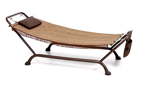 My_garden M0471Hammock Bali Ecru, 230x 98x 82cm, Brown