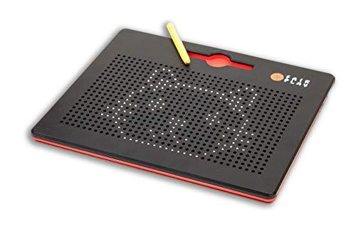Mag Pad / spannendes Magnetspiel für jung und alt / mit 12 Vorlagenkarten die zum nachlegen anregen / ab 3 Jahren geeignet