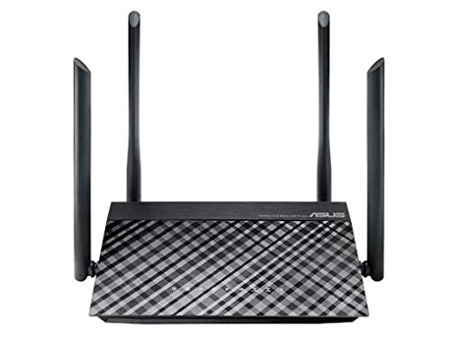 AC1200 Dual-Band Wi-Fi Router with Four 5dBi Antennas and Parental Controls