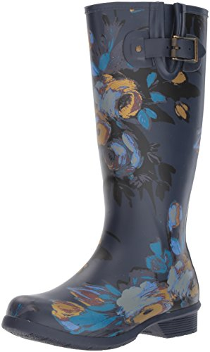 Chooka Women's Tall Memory Foam Rain Boot, Nina, 8 M US