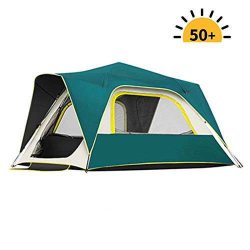 myna Tents, 1-8 people automatically eject tents, Waterproof and UV-resistant, Windproof, Easy to install, Ventilation system, Suitable for outdoor, Hiking, Fishing, Camping.Gelinkgreen.