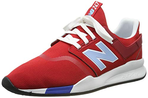 New Balance Herren 247v2 Deconstructed Sneaker, Rot (Team Red Team Red), 45 EU