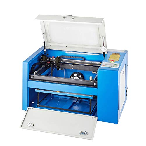 Orion Motor Tech 50W Co2 Laser Cutter Engraver, 12' x 20' Laser Engraving & Cutting Machine for Wood, Glass, Leather, Acrylic, Paper etc. with Rotary Device