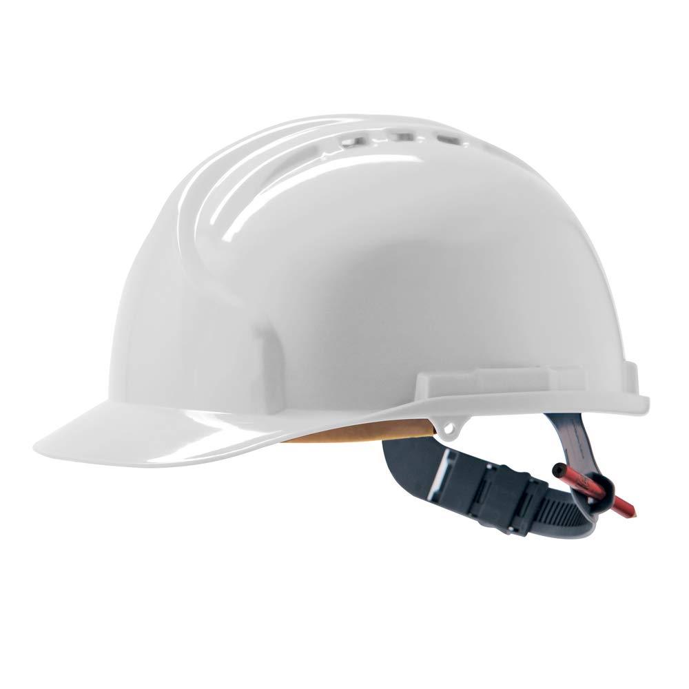 JSP AHN120-000-100 MK7 - Casco de seguridad, color blanco: Amazon ...