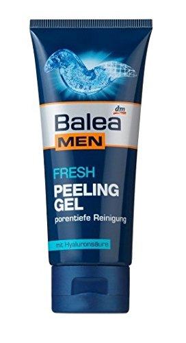 Balea Men Fresh Peeling-Gel, mit Hyaluronsäure, 100 ml