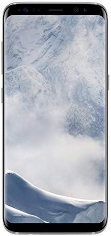SAMSUNG Galaxy S8 – 64GB – Arctic Silver – Verizon + GSM Factory Unlocked 4G LTE (Renewed)
