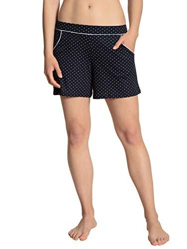 CALIDA Damen Favourites Dreams Shorts Pyjamaunterteil, Dark Lapis Blue, 40-42
