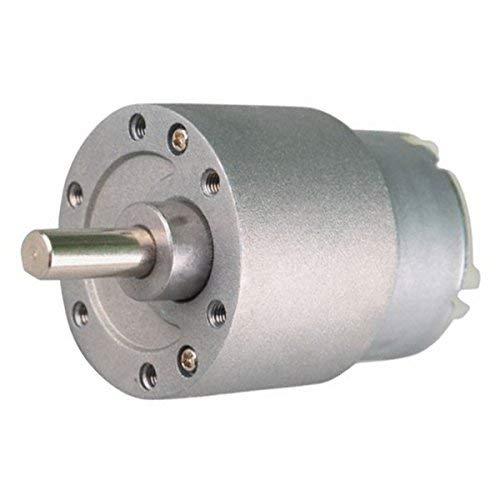 Mini motor eléctrico 12 V CC a 60 rpm de par alto