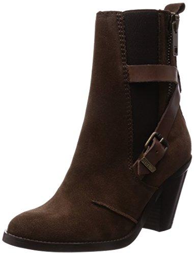 Diesel Damen Ancle Boots Stiefeletten D-Kinley (EUR 36, Braun)