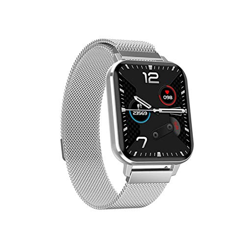 ZHENAO Smart Watch, Pantalla Grande de Alta Definición de 1.78 Pulgadas, Soporte de Conexión Bluetooth, Grabe Diario Diario, Ip68 Inforión Impermeable Notificación Pulsera Deportiva