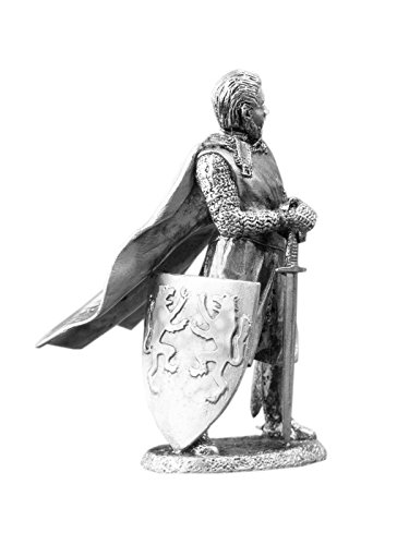 Ronin Miniatures - King of England Richard Plantagenet. Also Named Richard of York, 3rd Duke of York - Size 1/32 Scale - 54mm Action Figures - Home Collectible Figurines