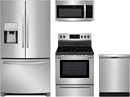 Frigidaire 4-Piece Kitchen Appliance Package with FFHB2750TS 36' French Door...
