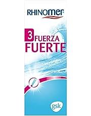 Rhinomer Spray Nasal 100% Agua de Mar, Fuerza Fuerte 3, para Adultos y Niños a partir de 6 Años, 135 ml