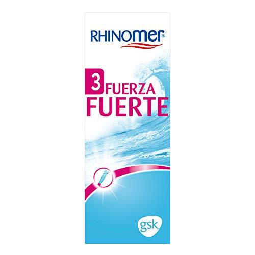 Rhinomer - Spray Nasal de Agua de Mar - Fuerza Fuerte 3 - Para Adultos y Niños mayores de 6 años - 135 ml
