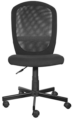 Furniture 247 - Silla de oficina, negro