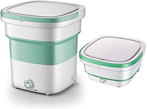 Device Mini Foldable high-Frequency Vibration Washing Machine | Portable Washing...