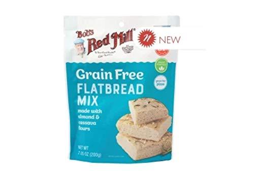 Bob's Red Mill Grain Free Flatbread Mix 7.05 Oz Bag (Pack of 1)