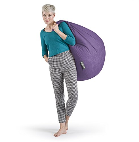 SITTING POINT only by MAGMA Sitzsack Easy XL ca. 220 Liter lila