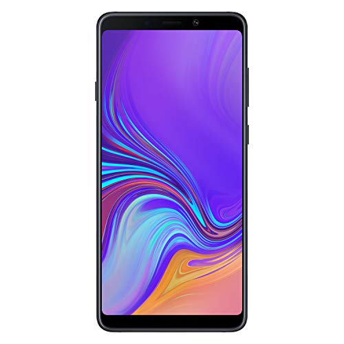 Samsung Galaxy A9 (2018) Smartphone, Nero (Caviar Black), Display 6.3' 128 GB Espandibili, [Versione Italiana]