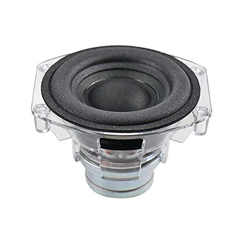 Wnuanjun 1 stücke 3 Zoll Protable Subwoofer Lautsprecher 4Ohm 30w Desktop Bluetooth Deep Bass Langstroke Foam Neodym Lautsprecher für GO + Spiel Micro